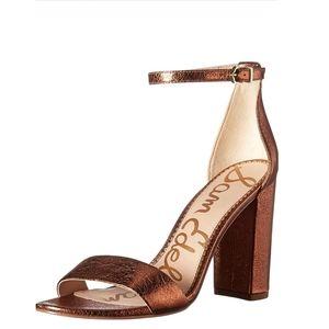 🎀NWOB🎀 Sam Edelman Leather Yaro Ankle Strap Sandal